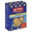 Pan tostado integral sin sal y sin azúcar 270 g Recondo