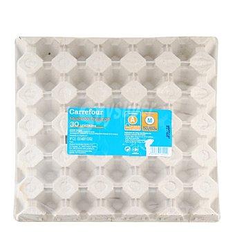 Carrefour Huevos M 30 ud