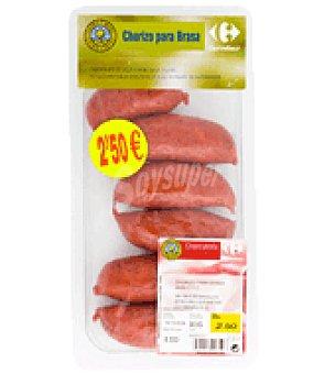 Calidad Y Origen Chorizo extra para la brasa Bandeja de 300 gr