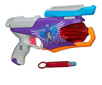 Pistola lanzadora de dardos de foam Spylight con linterna desmontable, incluye 6 dardos y decodificador de mensajes 1 unidad