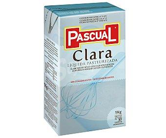 Pascual Clara líquida pasteurizada Botella 1 litro