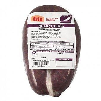 Valldan Butifarra Negra de Cerdo Cárnicas al vacío 350 g aprox Bandeja de 300.0 g. aprox