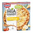 Pizza mía grande 4 quesos caja 400 gr Caja 400 gr Dr. Oetker