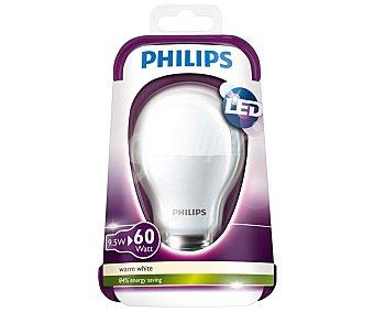 Philips Bombilla led esférica de 9.5W, con casquillo E27 (grueso) y luz cálida philips