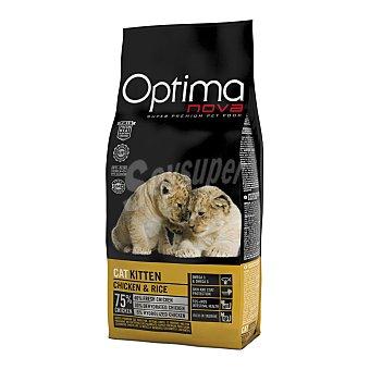 Optima Nova Pienso para gatos óptima Nova Kitten pollo y arroz 2 Kg