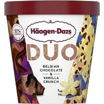 Häagen-Dazs Helado Belgian de chocolate&vainilla Tarrina 420 ml