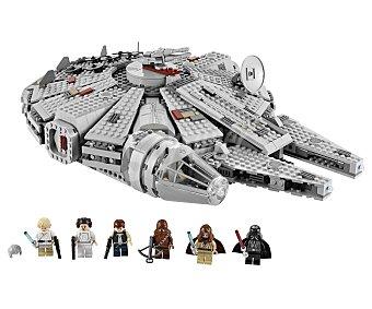 LEGO Juego de Construcción Stars Wars, Nave Espacial Rebelde Halcón Milenario, Modelo 7965 1 Unidad