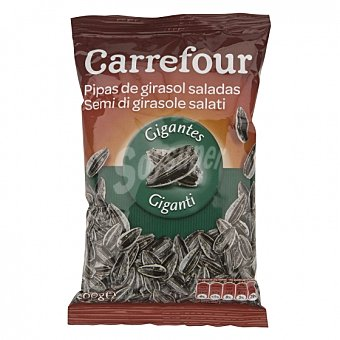 Carrefour Pipas de girasol saladas 200 G 200 g
