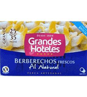 Grandes hoteles Berberechos al natural 25/35 63 g