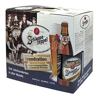 Schlappeseppel Cerveza de trigo clara 5 ud