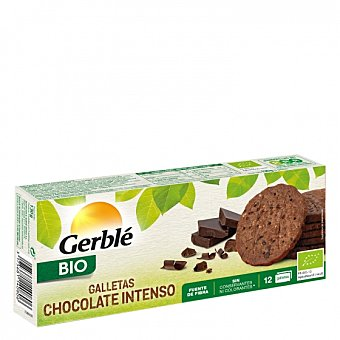 Cereal Bio Galletas de chocolate negro intenso ecológicas 132 G 132 g