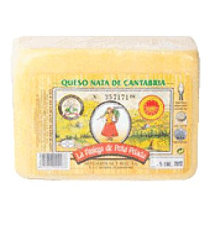 La Pasiega Queso nata de cantabria d.o 1 kg