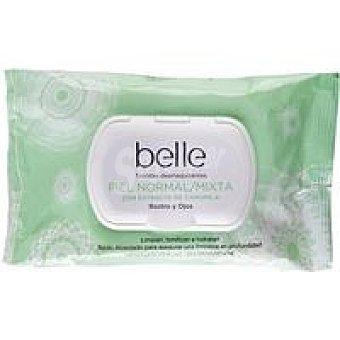 Belle Toallitas desmaquilladoras piel normal 25u