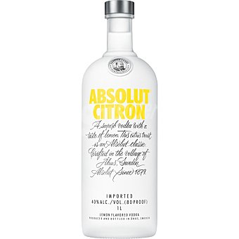 ABSOLUT Citron Vodka Botella 70 cl