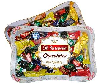 La Estepeña Surtido navidad con chocolate Bandeja 500 gr