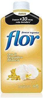 Flor Suavizante concentrado Oro y Orquídea 45 dosis