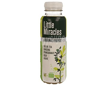 Little Miracles Té Verde con Granada y Ginseng Botella 33 cl