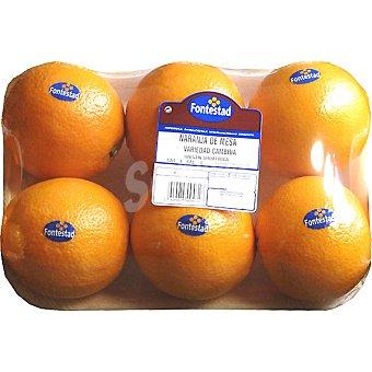 FONTESTAD naranjas de mesa peso aproximado bandeja 1,8 kg
