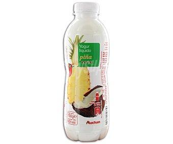 Auchan Yogur líquido con piña y coco 750 gr