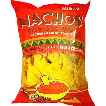 Aliada Nachos fritos de maíz sabor barbacoa Bolsa 200 g