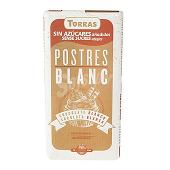 Torras Chocolate Blanco Postres 218 g