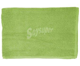 Productos Económicos Alcampo Alfombra de baño color verde, densidad de 700 gramos/m², 50x90 centímetros 1 unidad