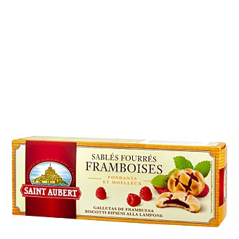 Saint aubert Galleta frambuesa 125 g