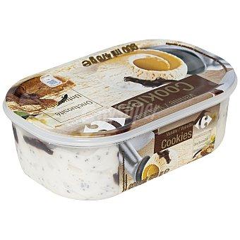 Carrefour Helado de vainilla/ cookies 900 ml