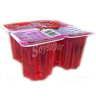 Condis Gelatina fresa Pack 4 un