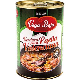 VEGA BAJA Verdura para paella Valenciana  Lata de 240 g neto escurrido