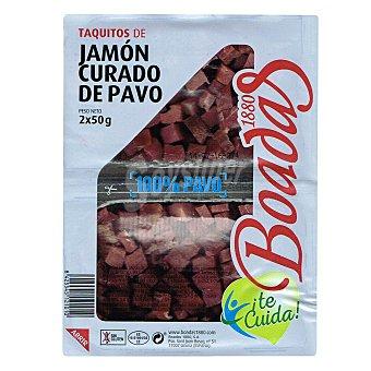 Boadas Taquitos de jamón curado de pavo 50 gr