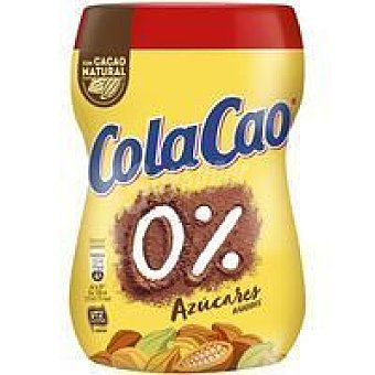 Cola Cao Cacao soluble 0% Bote 325 g