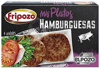 Fripozo Hamburguesas de cerdo Paquete 4 unidades