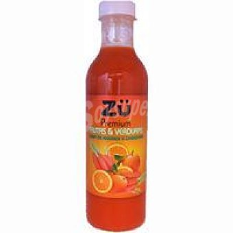 Premium Zumo de naranja-zanahoria ZÜ Botella 75 cl