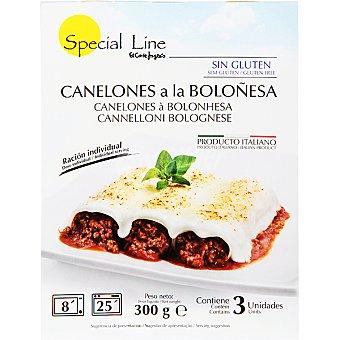 Special Line Canelones a la boloñesa 3 unidades estuche 300 g 3 unidades