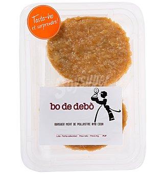 Bo de Debo Burguer pollo-ceb. X2 180 G