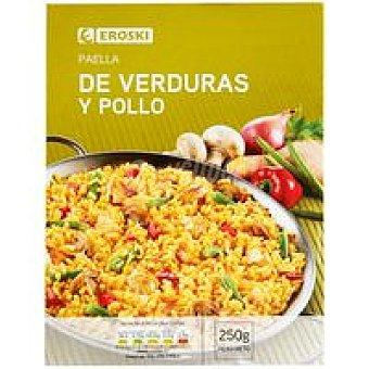 Eroski Paella de pollo y verduras 250 g