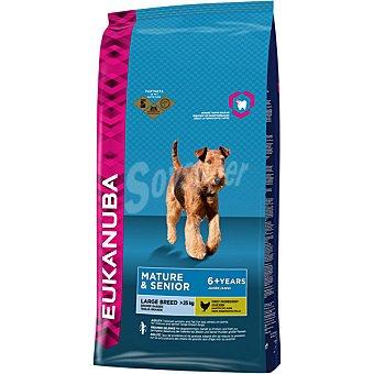 EUKANUBA MATURE & SENIOR Large Breed Alimento completo para perros de raza grande y gigante en su madurez con pollo bolsa 12 kg Bolsa 12 kg
