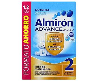 Almirón Nutricia Leche 2 continuación Advance 1200 g