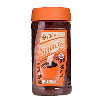 Hacendado Cafe soluble natural suave clasico Bote 200 ml