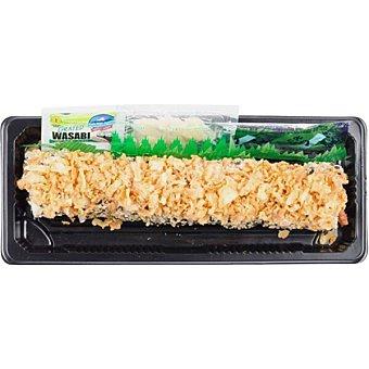 Sushispot Uramakis de salmón y queso crema bandeja 160 g 8 unidades