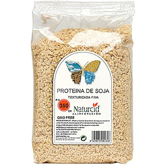 NATURCID Proteína de soja texturizada fina bolsa 350 g Bolsa 350 g