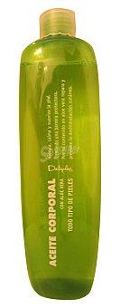 Deliplus Aceite corporal aloe vera (botella verde) Botella 400 cc