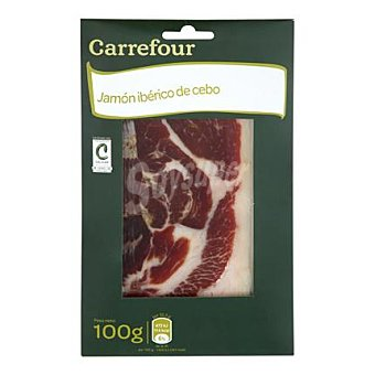 Carrefour Jamón Ibérico en lonchas 100 g