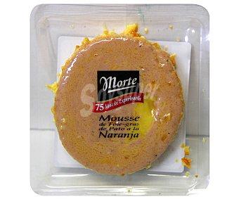 MORTE Mousse de foie gras de pato a la naranja 80 gramos