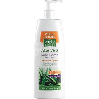 Luxana Phyto Nature Aloe Vera locion corporal hidratacion optima con extracto de manzanilla y vitamina E dosificador 400 ml Dosificador 400 ml