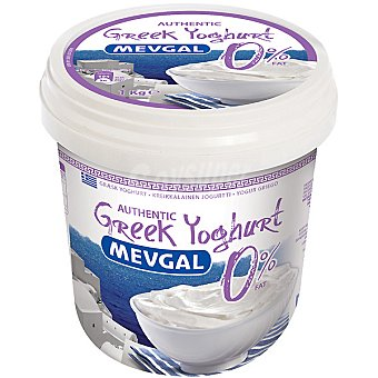 MEVGAL Yogur griego 0% materia grasa Envase 1 kg