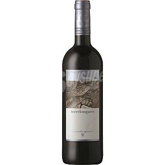 TORRELONGARES vino tinto tempranillo garnacha crianza D.O. Cariñena botella 75 cl