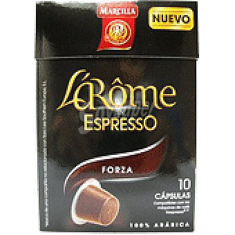 L'Arôme Espresso Marcilla Café Fuerte L'Arôme Espresso - Intensidad 9 10 ud.