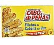 Filetes de caballa del sur en aceite de girasol 53 gramos Cabo de Peñas